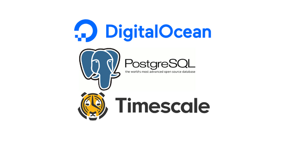 TimescaleDB on DigitalOcean's  PostgreSQL instance